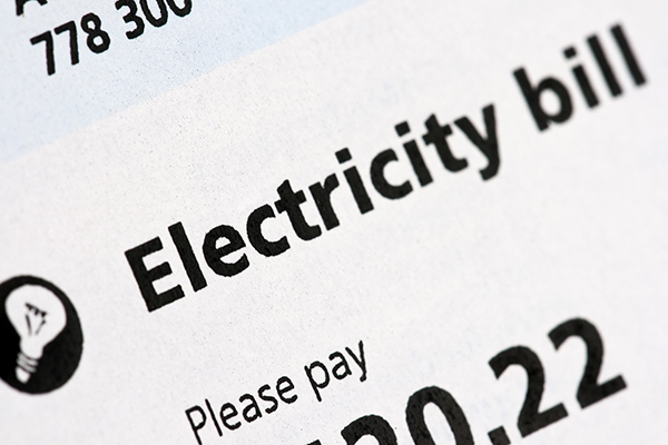 Electricity Bill - Halo Financial