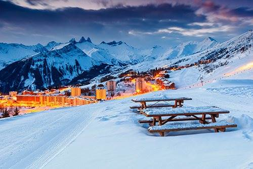 The most affluent resort in the Alps?