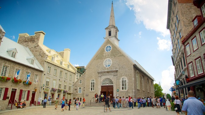 old quebec is a place to visit in Canada