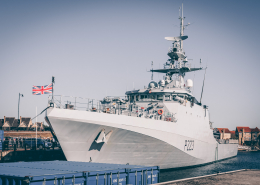 Royal Navy gunships